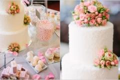 Torták és virágok